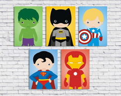 Poster Digital Super Heroís Baby (Arquivo A4 para download)