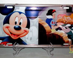 PLACA DE CARRO DECORATIVA - WALT DISNEY