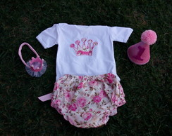 Conjunto Princesa Smash the cake