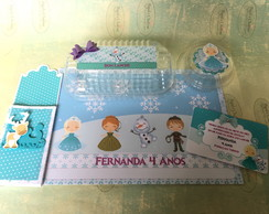 Kit Festa na Escola Frozen
