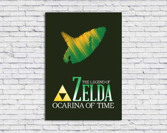Poster Digital The Legend of Zelda (Arquivo A4 para download