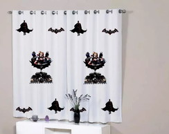 Cortina Quarto Batman Arkham Knight Game