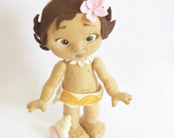 Turminha Moana - Kit com 5 Personagens
