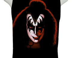 Camiseta Gene Simmons Face - Regata