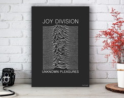 Placa Decorativa Joy Division Unknown Tamanho M