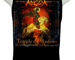 Camiseta Angra - Temple of Shadows - Regata