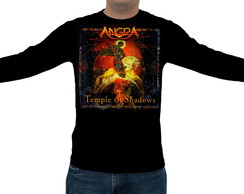 Camiseta Angra - Temple of Shadows - Manga Longa