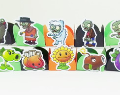 Forminha para doces Plants vs Zombies