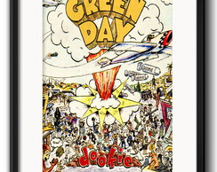 Quadro Green Day Dookie com Paspatur