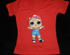 LOL- SHORTY- camiseta pintada (sem nome)