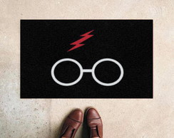 Capacho Divertido Harry Potter Cicatriz