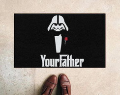 Capacho Divertido Vader Your Father