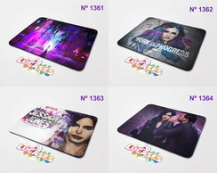 Mouse Pad Jessica Jones Marve Work In Progress Mousepad