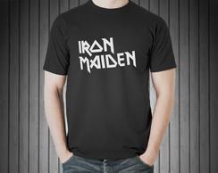 ... Camiseta Masculina Rock Iron Maiden 100% Algodão Preto 9d26fc78a07
