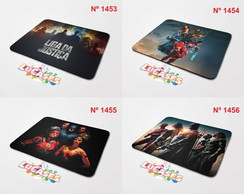 Mouse Pad Liga da Justiça Batman Superman Flash Mousepad