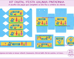 Kit Digital Festa Galinha Pintadinha