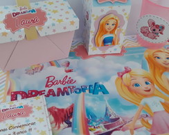 Festa na escola Kit Barbie Dreamtopia + brinde