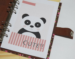 Kit planner A5 - Panda (ARQUIVO DIGITAL)