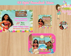 Kit Digital Personalizado Moana