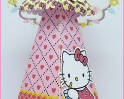 Caixa Cone Hello Kitty