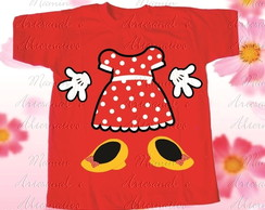 Camiseta divertida mickey minnie e amigos