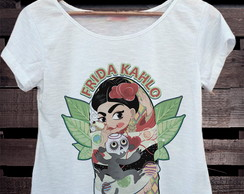 T-shirt Frida kahlo Cartoon****