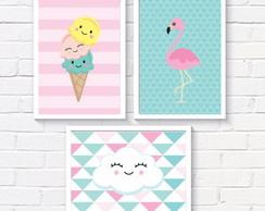 kit posters flamingo