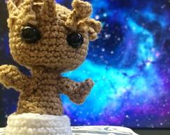 GROOT BEBE Amigurumi Guardianes de la Galaxia Tutorial Crochet ... | 194x244