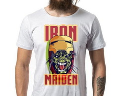 Camiseta Iron Maidem cod9170