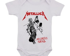 Body Infantil Metallica Banda de Rock