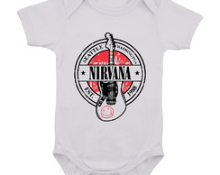 Body Infantil Nirvana Banda de Rock