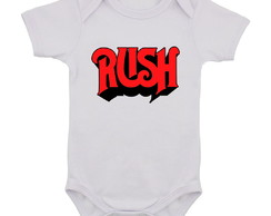 Body Infantil Rush Banda de Rock