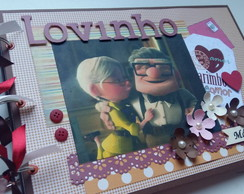 Álbum Scrapbook Love Story