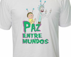 Camiseta Rick and Morty Paz