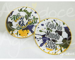 Bolacha de Chopp copa do mundo