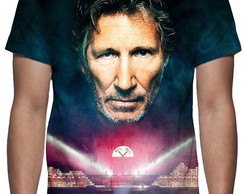 Camiseta Pink Floyd - Roger Waters - Estampa Total