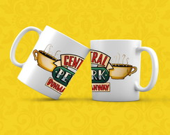 Caneca - Friends - Central Perk