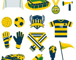 Kit Scrap Digital / Futebol