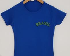 c0d4006e85 ... Camiseta Copa do Mundo (Brasil) Personalizada Feminina PP