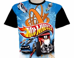 camiseta hotwheels estampa total