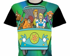 camiseta Scooby-Doo estampa total