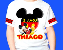 Camiseta do mickey 1