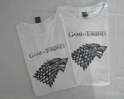 Camiseta Game of Thrones casa Stark