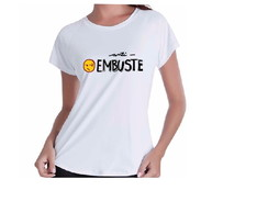 CAMISA BABY LOOK ANTI EMBUSTE EXCLUSIVA