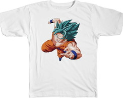 Camisa Camiseta Blusa Anime Dragon Ball Goku Deus 1