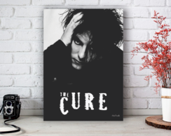 Placa Decorativa The Cure Robert Smith Tamanho M
