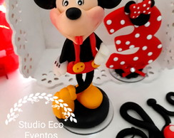 Enfeite Mickey em biscuit - VENDIDO