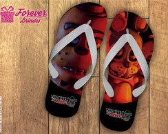 Chinelo Personalizado Five Nights at Freddy's