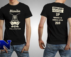 Camiseta Blondie Deborah Harry Call Me Popload Festival 2018