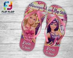 CHINELO PERSONALIZADO- BARBIE.
